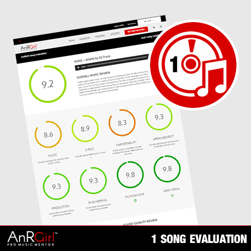 Get 2 Songs for 1 - Custom A&R Evaluation and Direction - Limited Time Only!
